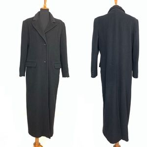 Marvin Richards Vintage Cashmere Black Long Coat